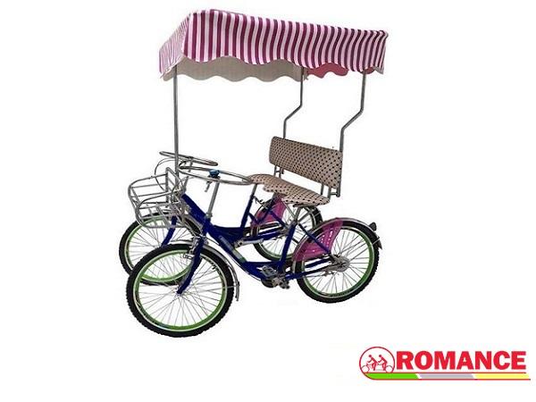 xe đạp đôi 4 bánh người lớn