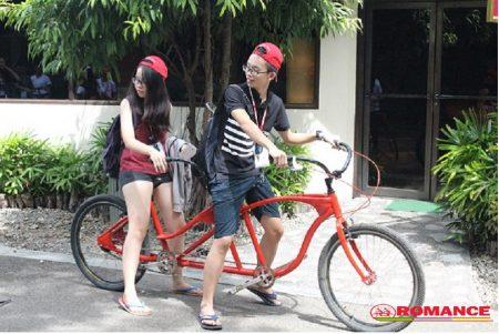 xe đạp đôi sài gòn