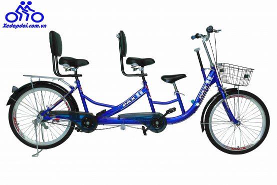 Xe đạp đôi có những màu nào