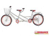 xe đạp đôi inox romance