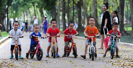 Những lợi ích vàng của việc đạp xe đối với sự phát triển của trẻ-1