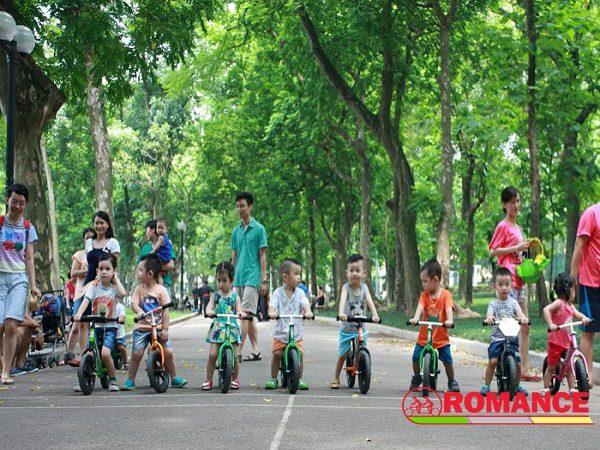 Những lợi ích vàng của việc đạp xe đối với sự phát triển của trẻ