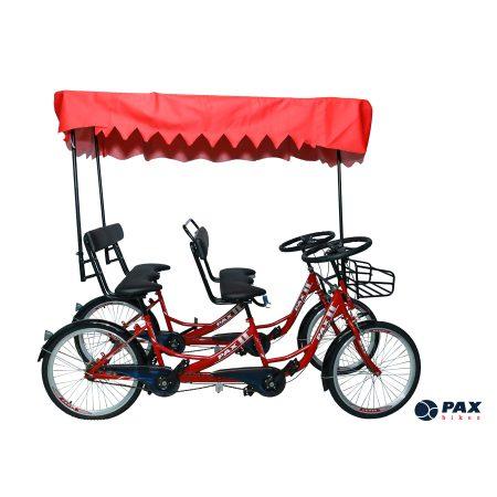 Xe đạp đôi 4 bánh