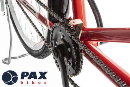 Xe đạp đôi pax8 màu đỏ