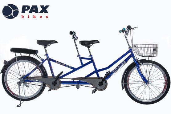 xe đạp đôi 8b màu xanh