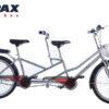 xe đạp đôi pax 8s màu bạc